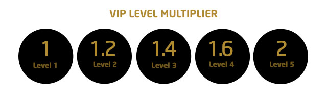 Loyalty Programme - VIP Level Multiplier