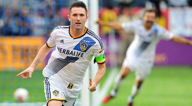 LA Galaxy captain Robbie Keane