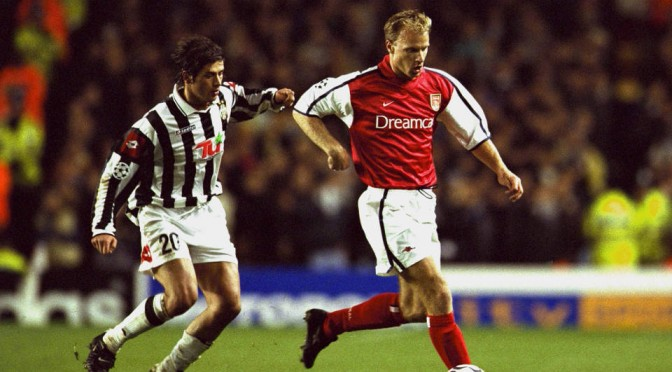Arsenal legend Dennis Bergkamp