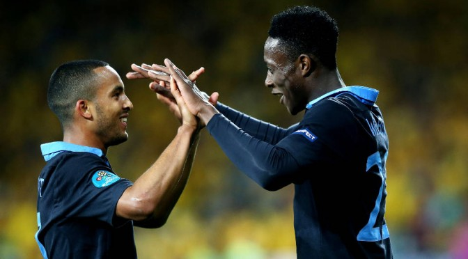 Theo Walcott and Danny Welbeck