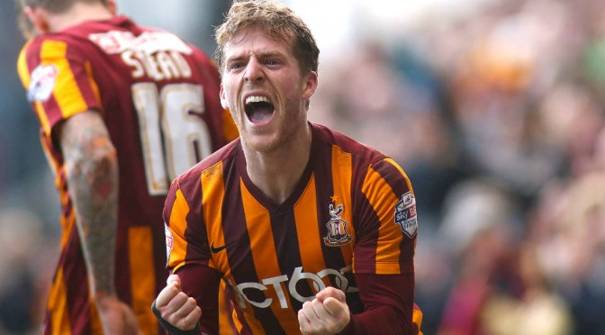 Bradford City's Billy Clarke