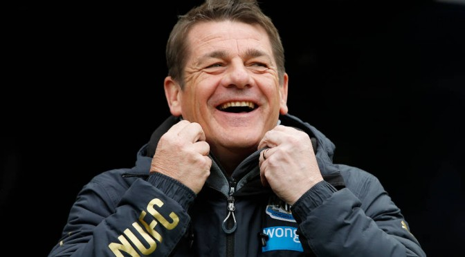 Newcastle manager John Carver