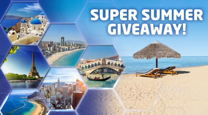 Super summer giveaway prize draw