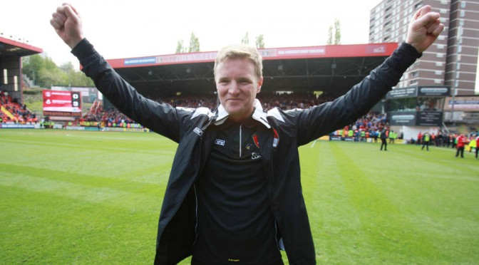 LMA Manager of the Year Eddie Howe