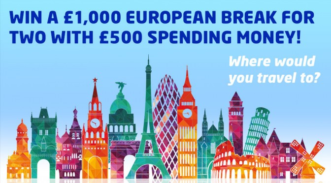 european break prize draw