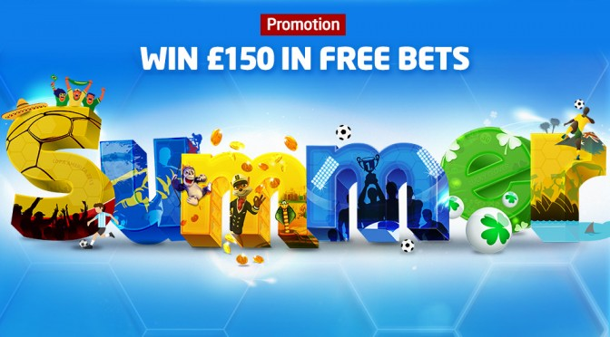 Summer free bets promo