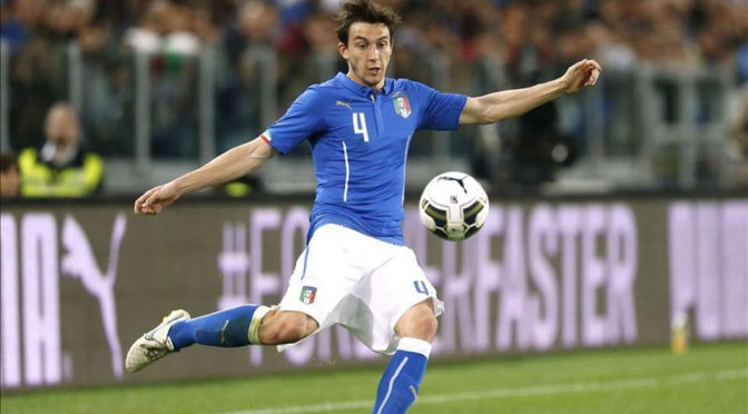 Italy international Matteo Darmian
