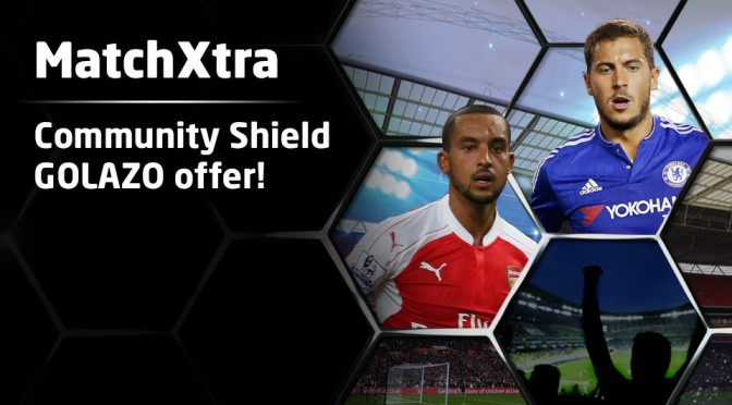 MatchXtra Community Shield Goalzo Offer