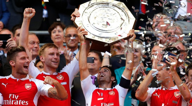 Why winning Community Shield means Arsenal won't lift the Premier League