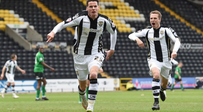 League Two - a candidate for automatic promotion, the play-offs and relegation